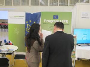 Program LIFE na veletrhu VVVI v Brně