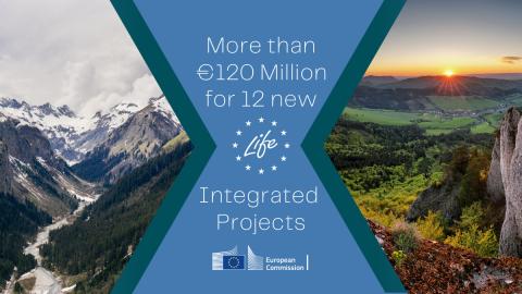EU vyčleňuje 121 milionů EUR na velké integrované projekty